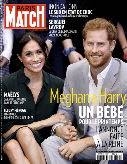 Paris Match N°3623 Octobre 2018