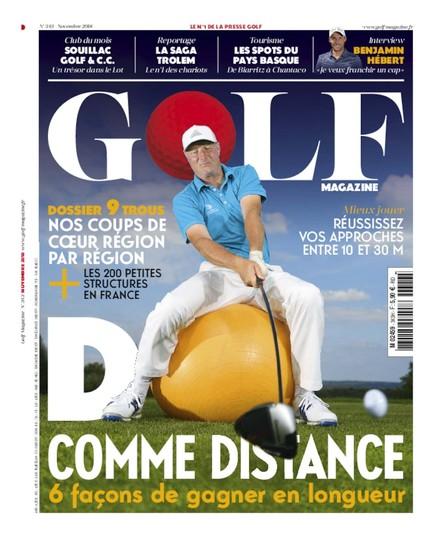 Golf Magazine - Octobre 2018