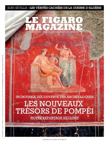 Figaro Magazine : Les Nouveaux trésors de Pompéi