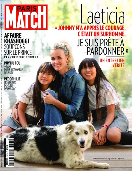 Paris Match N°3624 Octobre 2018