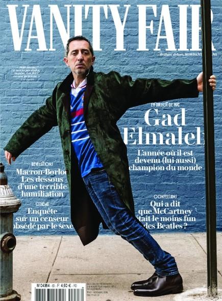 Vanity Fair - Octobre 2018