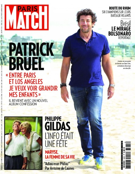 Paris Match N°3625 Octobre 2018
