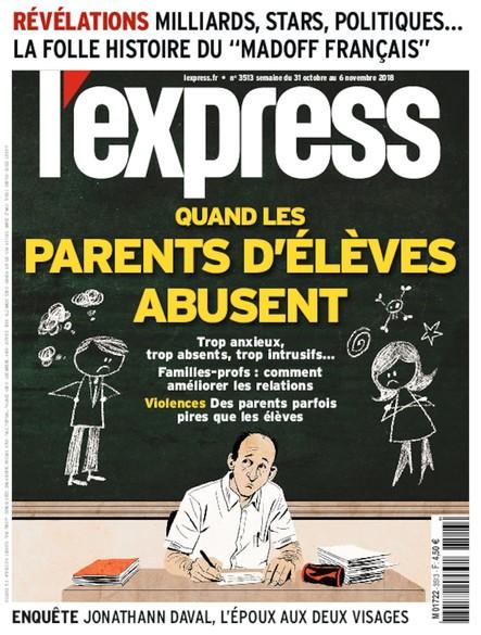 L'Express - Octobre 2018 - Quand les parents d'élèves abusent