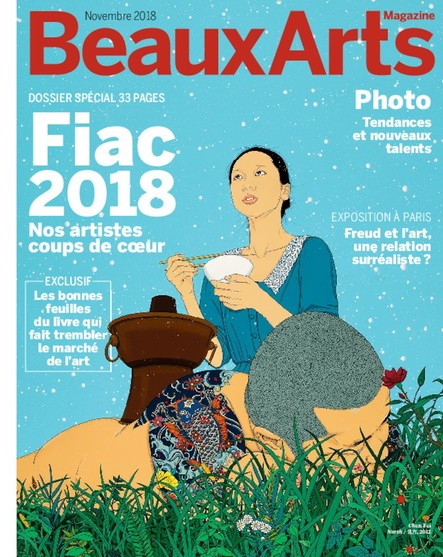 Beaux Arts Magazine - Novembre 2018