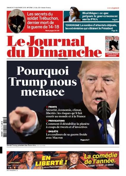 Journal du dimanche - 11 novembre 2018