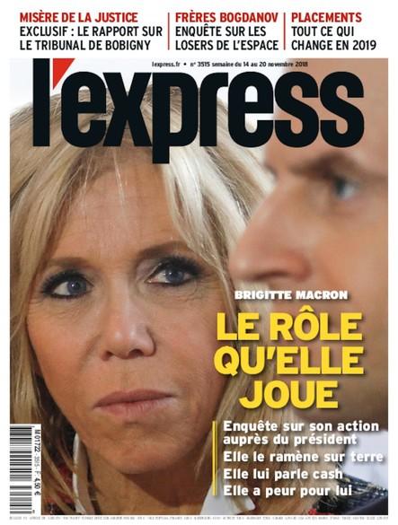 L'Express - Novembre 2018 - Le rôle qu'elle joue