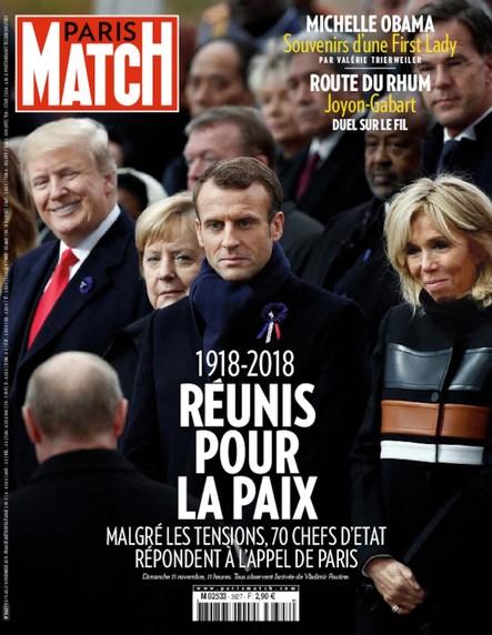 Paris Match N°3627 Novembre 2018