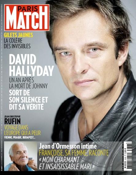 Paris Match N°3628 Novembre 2018