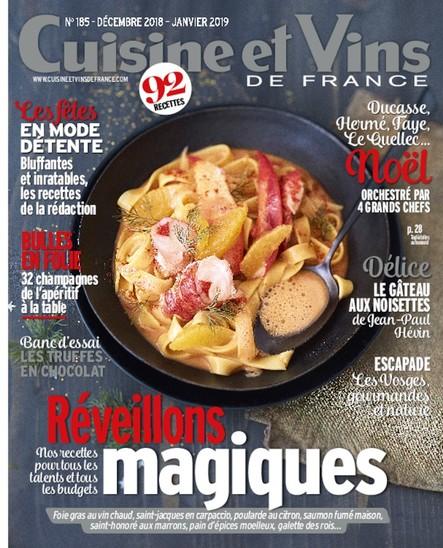 Cuisine & Vins - Décembre 2018/Janvier 2019