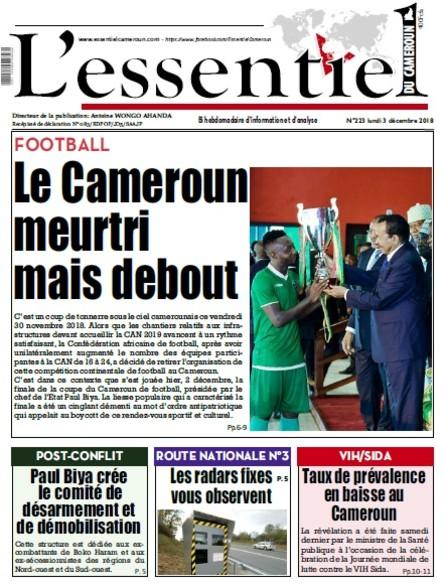 L'essentiel du Cameroun numéro 223