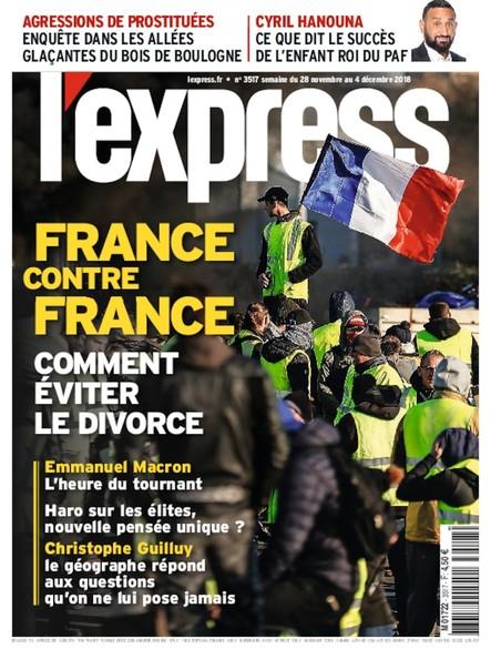 L'Express - Novembre 2018 - France Contre France