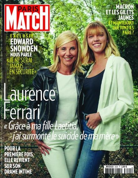 Paris Match N°3629 Novembre 2018