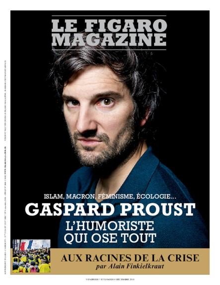 Figaro Magazine : Gaspard Proust, l'humoriste qui ose tout