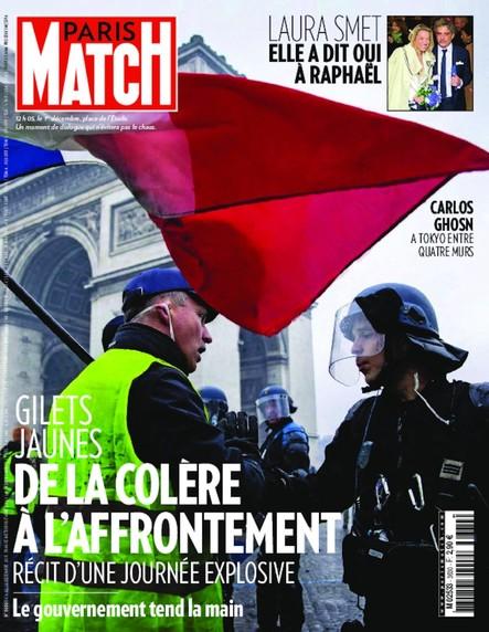 Paris Match N°3630 Décembre 2018