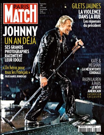 Paris Match N°3631 Décembre 2018