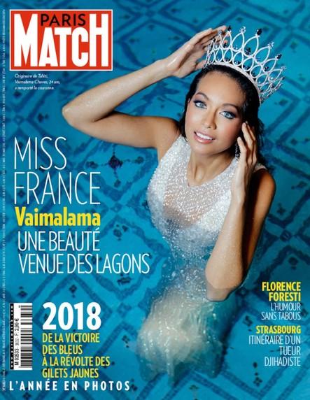 Paris Match N°3632 Décembre 2018