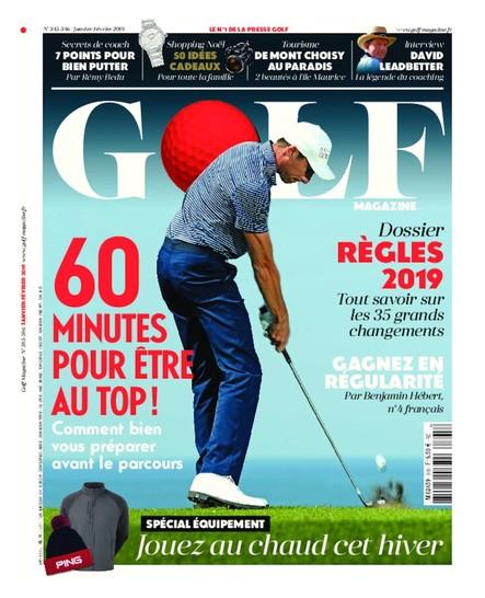 Golf Magazine - Décembre 2018