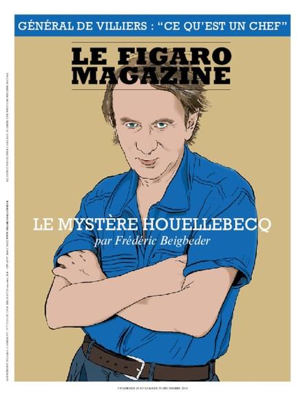 Figaro Magazine : le Mystère Houellebecq