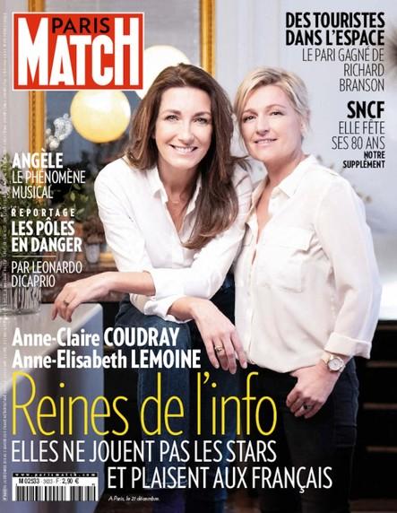 Paris Match N°3633 Décembre 2018
