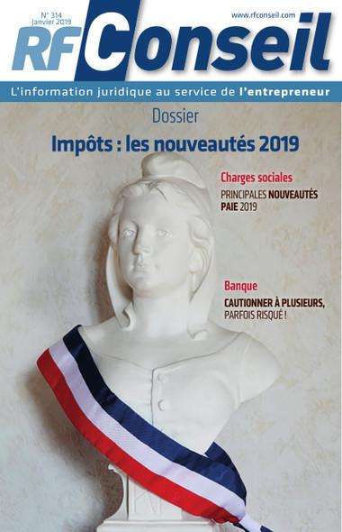 RF Conseil - Janvier 2019