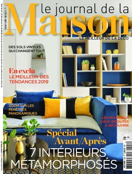Journal de la maison - Janvier/Février 2019