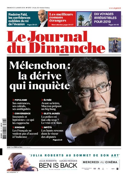 Journal du dimanche - 13 janvier 2019