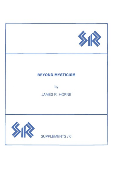 Beyond Mysticism