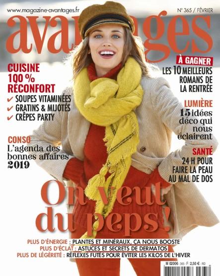 Avantages - Janvier 2019 : On veut du peps !