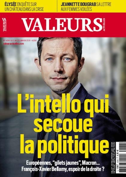 Valeurs Actuelles - Janvier 2019 - L'intello qui secoue la politique