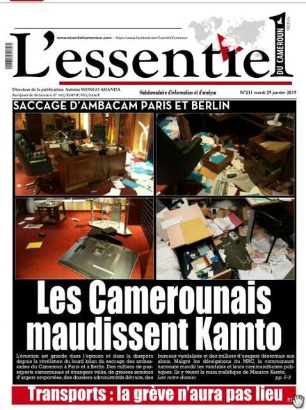 L'essentiel du Cameroun numéro 231