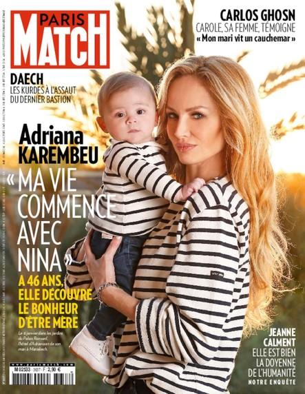 Paris Match N°3637 Janvier 2019