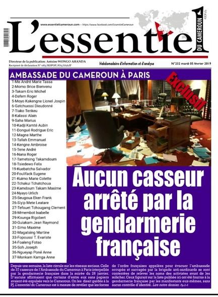 L'essentiel du Cameroun numéro 232