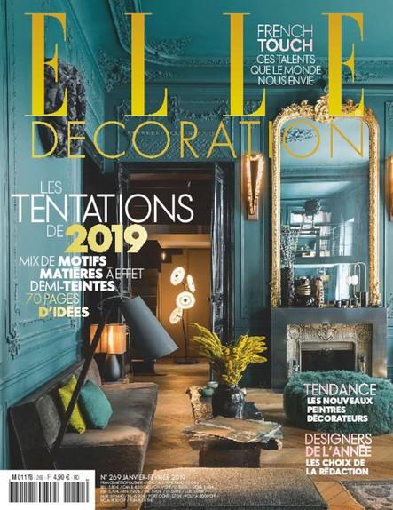 Elle Décoration - Janvier 2019 - N°269