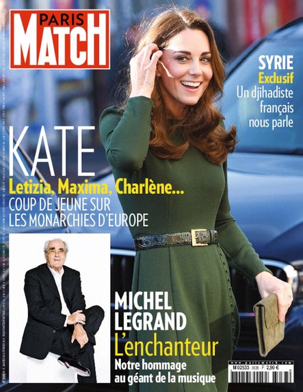 Paris Match N°3638 Janvier 2019