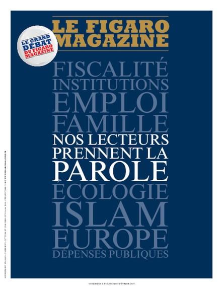 Figaro Magazine : nos lecteurs prennent la parole