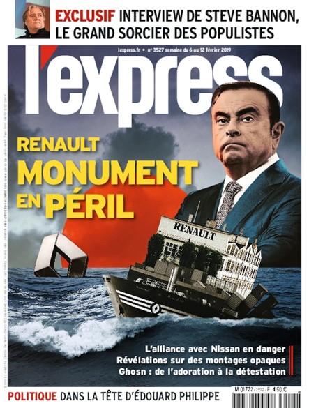 L'Express - Février 2019 - Renault : Monument en péril