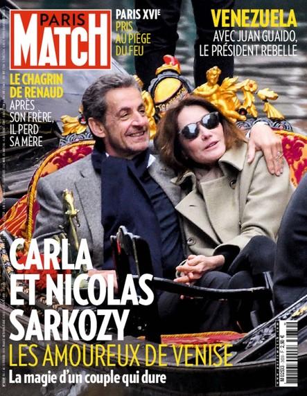 Paris Match N°3639 Février 2019