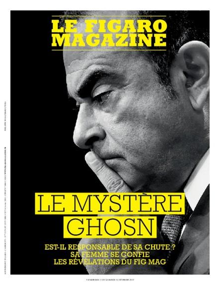 Figaro Magazine : Le Mystère Ghosn