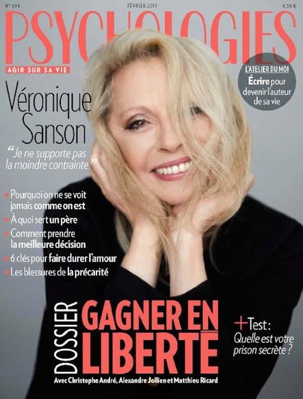 Psychologies Magazine - Janvier 2019