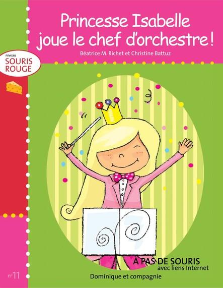 Princesse Isabelle joue le chef d'orchestre !