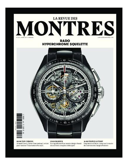 La Revue des montres N°243 - Mars 2019