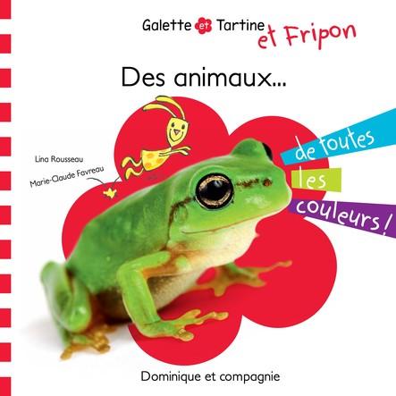 Des animaux de toutes les couleurs !