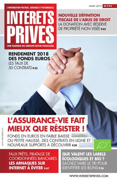 Intérêts Privés - Mars 2019