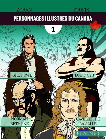 Personnages illustres du Canada : Bandes dessinées