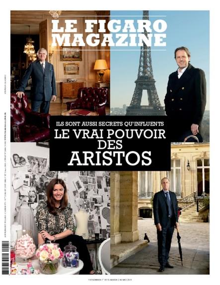 Figaro Magazine : Le vrai Pouvoir des Aristots
