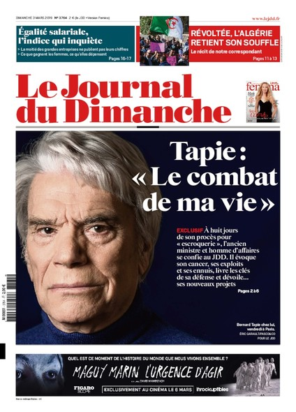 Journal du dimanche - 3 mars 2019