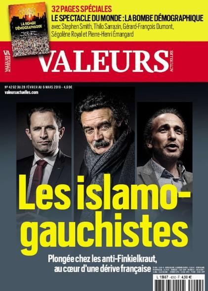 Valeurs Actuelles - Février 2018 - Les Islamo-gauchistes