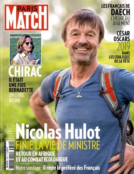 Paris Match N°3642 Février 2019