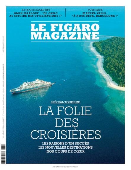Figaro Magazine : La Folie des Croisières