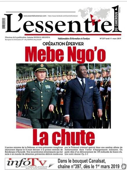 L'essentiel du Cameroun numéro 237
